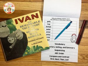 Use flip books to assess comprehension and other important reading skills for picture books. Students love the interactive and engaging format!