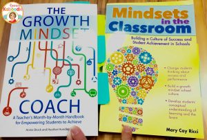 These books are must haves for any classroom teacher interested in helping students understand growth mindset concepts. Please refer to The Growth Mindset Coach by Annie Brock and Heather Hundley and Mindsets in the Classroom by Mary Cay Ricci.