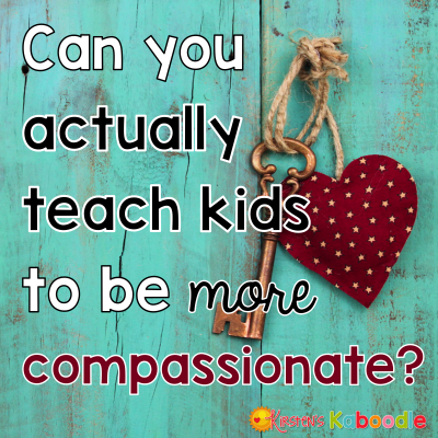 Is compassion something that can really be taught? What can teachers do in the classroom to develop compassion in their students? Check out these tips, activities, and free products that you can use today!