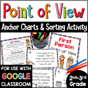 Point of View Sorting Activity COVER