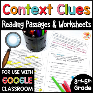 context-clues-worksheets