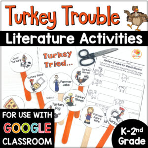 Turkey Trouble Activities COVER