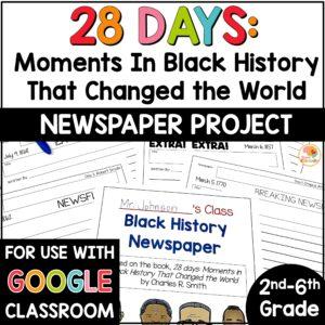 black-history-newspaper-project