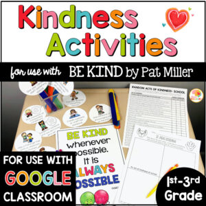 Be Kind Kindness Activities for Kids COVER