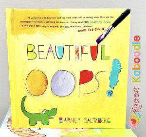 Beautiful Oops by Barney Saltzberg is a perfect book to teach students about growth mindset and the beauty in making mistakes.