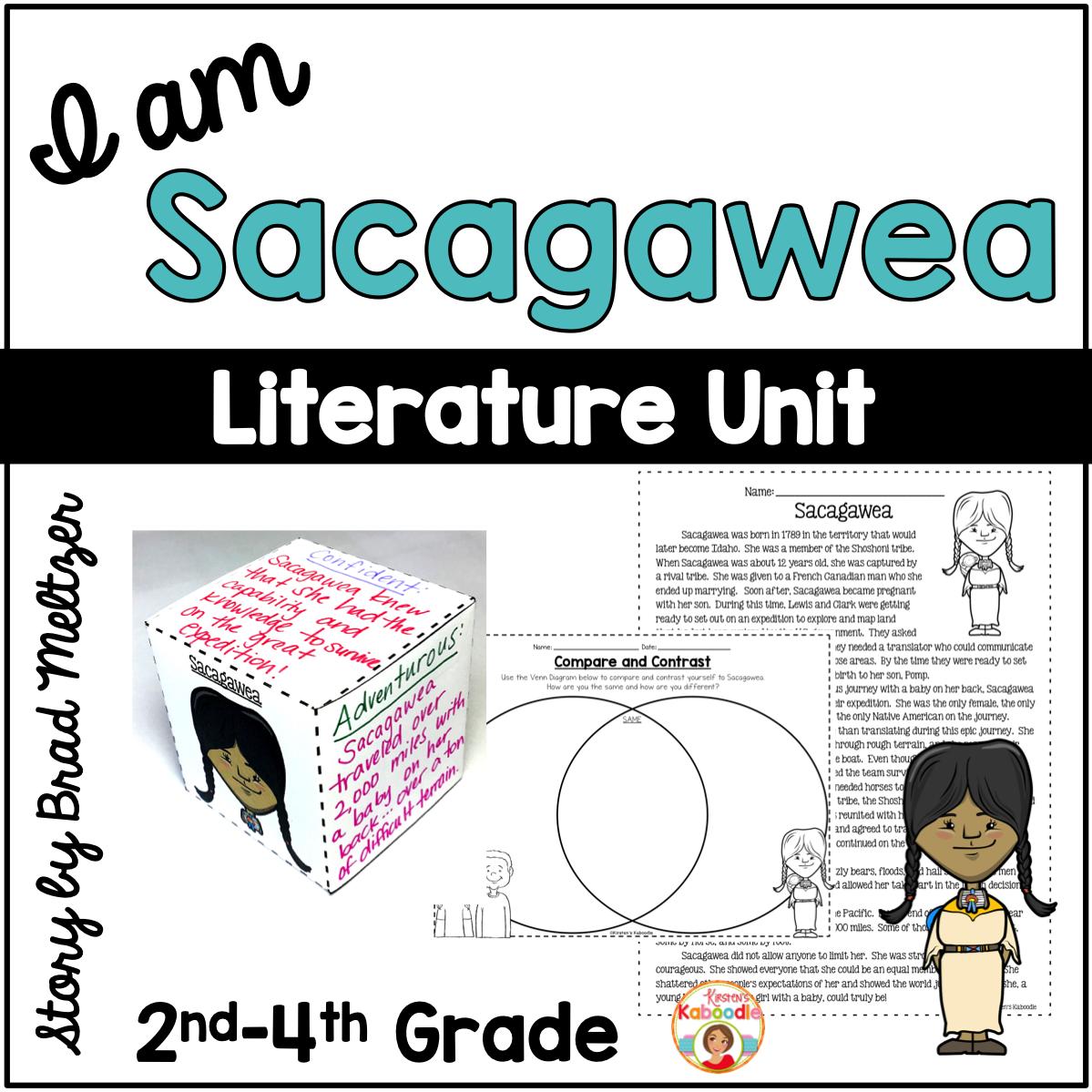 I am Sacagawea by Brad Meltzer Literature Unit Activities