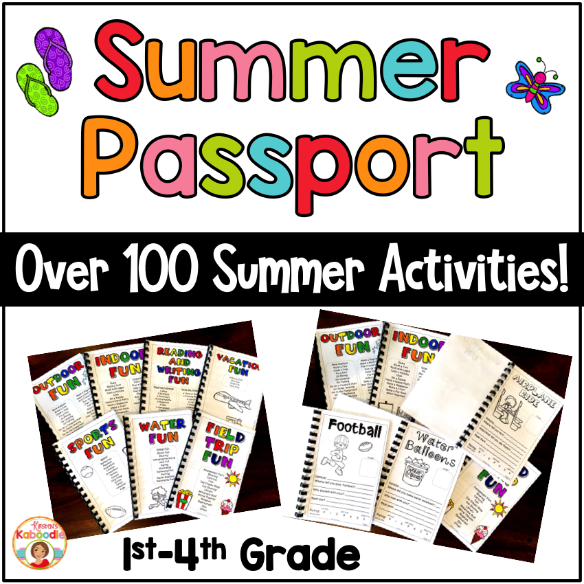 Summer Passport Activity Booklet