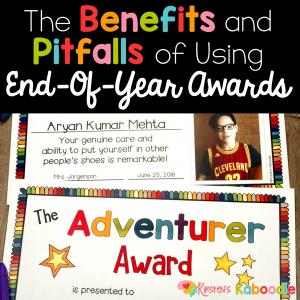 End-of-Year Awards: Benefits and Pitfalls