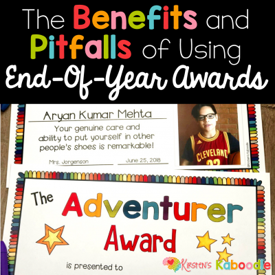 The Benefits and Pitfalls of Using End-of-Year Awards