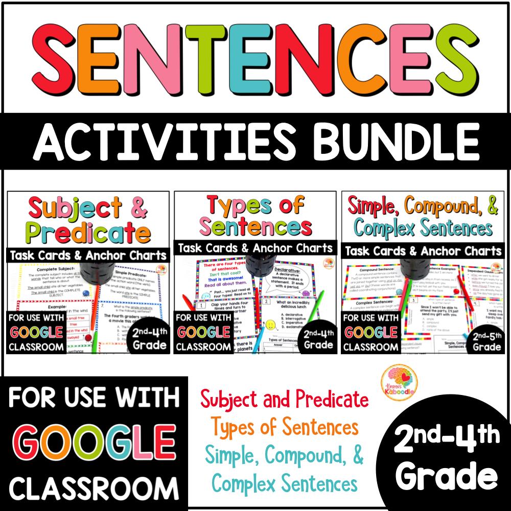 sentence-structure-activities-bundle