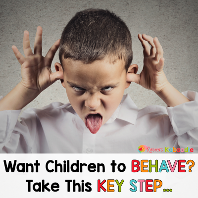 Want Children to Behave? Take This Key Step!