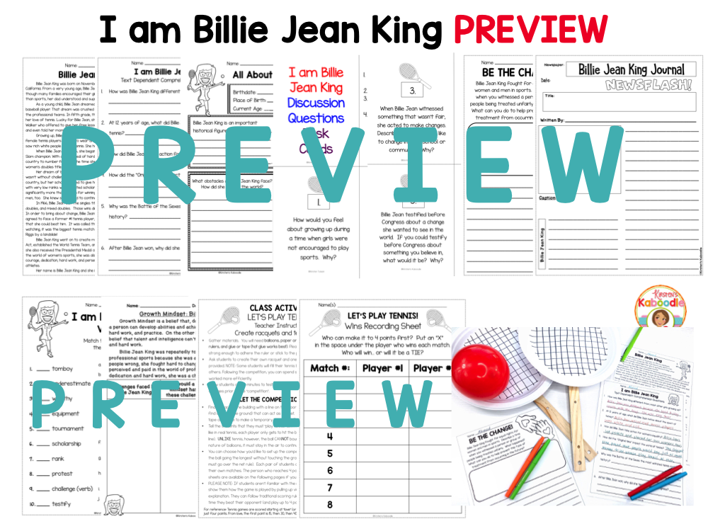 I am Billie Jean King Preview