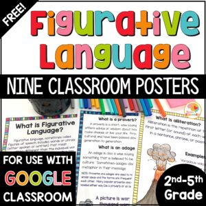 free-figurative-language-posters
