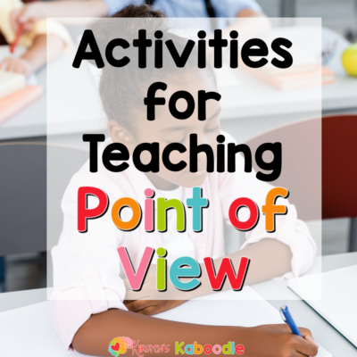 First Person Point of View Activities