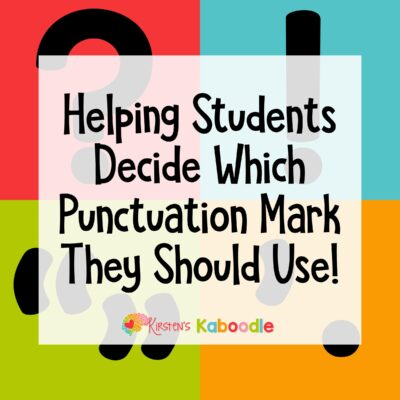 What Punctuation Mark Do I Use?